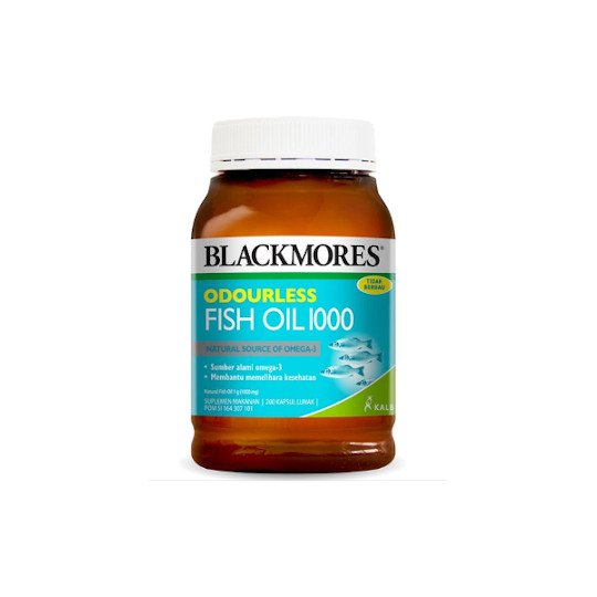 BLACKMORES ODOURLESS FISH OIL 1000 MG 200 TABLET