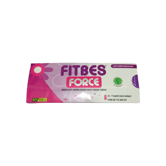 FITBES FORCE 5 TABLET - SEHAT HEMAT