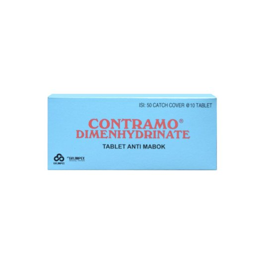 CONTRAMO 50 MG 10 TABLET