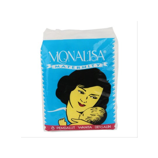 MONALISA MATERNITY 8 PADS