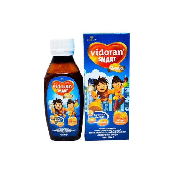 VIDORAN SMART RASA JERUK SIRUP 100 ML