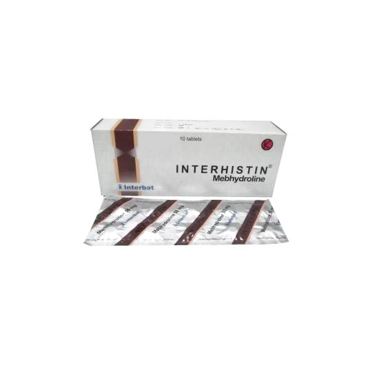 INTERHISTIN 50 MG 10 TABLET