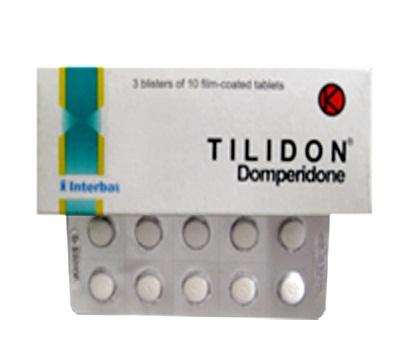 TILIDON 10 MG 10 TABLET