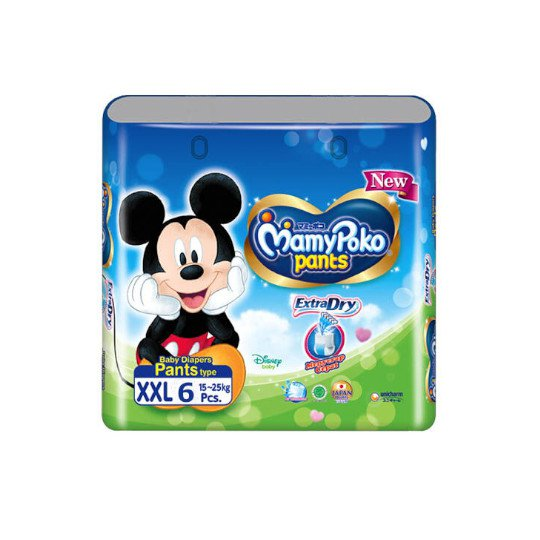 Mamy Poko Pants Extra Dry XXL 6 Pieces