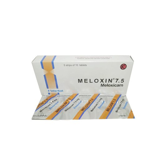 MELOXIN 7.5 MG 10 TABLET