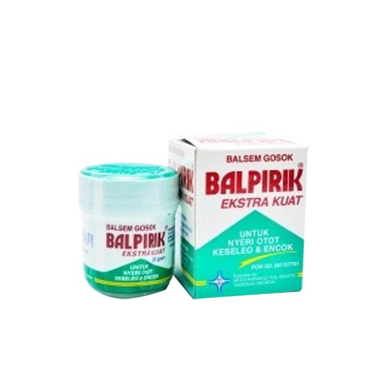BALPIRIK EXTRA KUAT (HIJAU) BALSAM 20 G