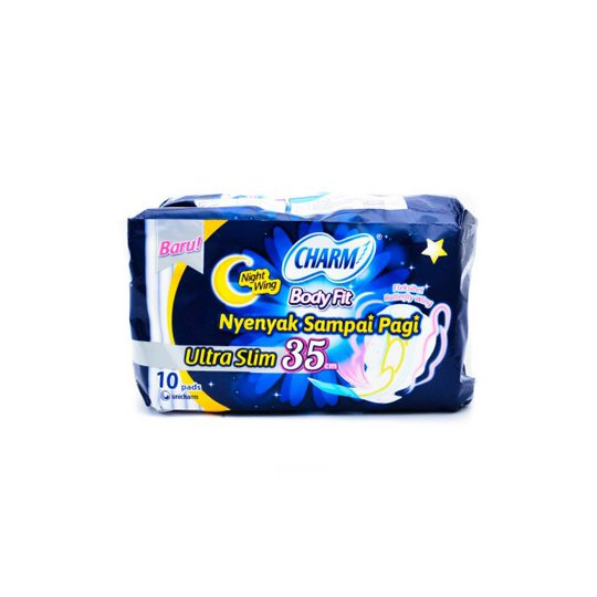 CHARM BODY FIT NIGHT 10 PADS