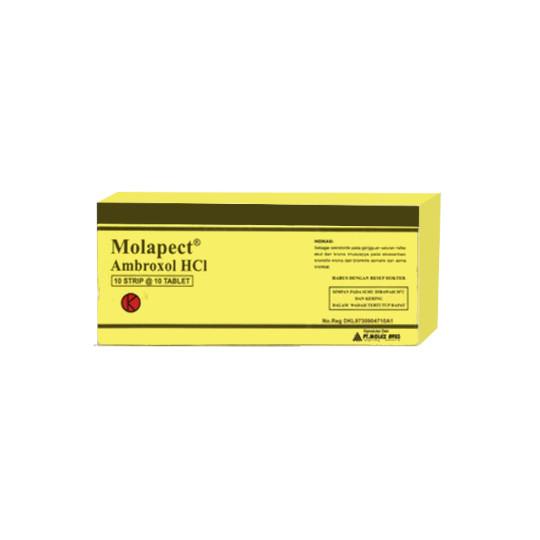 MOLAPECT 30 MG 10 TABLET