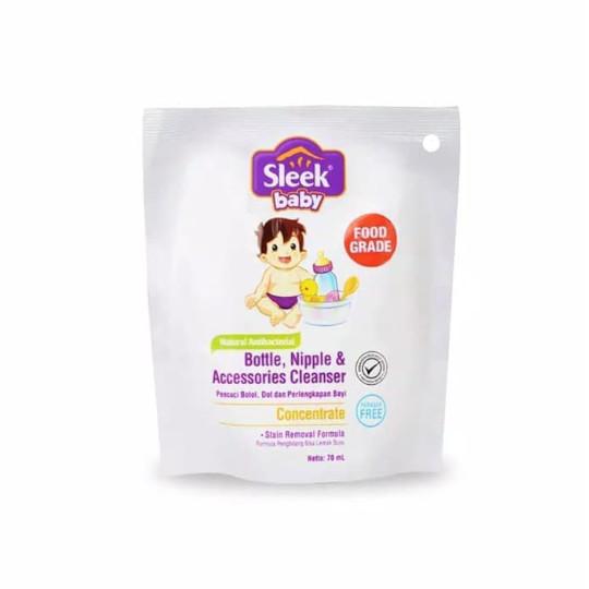 Sleek Bottle Nipple & Baby Accessories Cleanser 70 ml