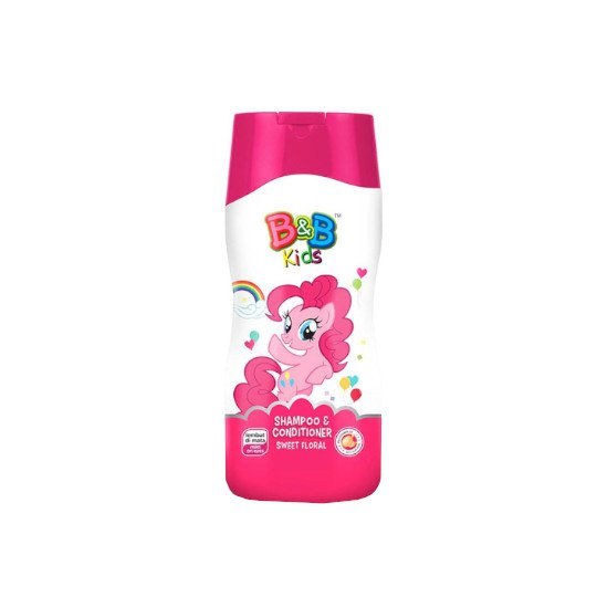 B&B KIDS SHAMPOO & CONDITIONER SWEET FLORAL 200 ML