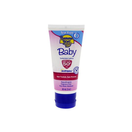BANANA BOAT BABY SUNSCREEN SPF 50 LOTION 90 ML