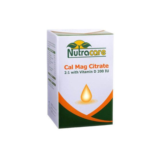 NUTRACARE CAL MAG CITRATE 30 TABLET
