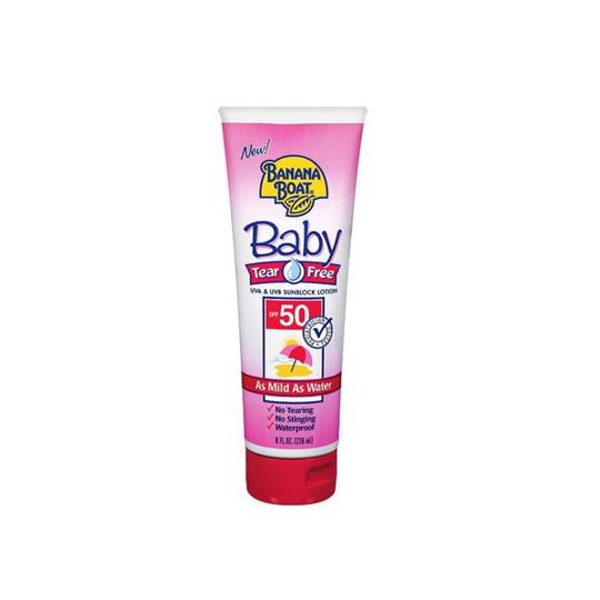 BANANA BOAT BABY TEAR FREE SPF 50 236 ML