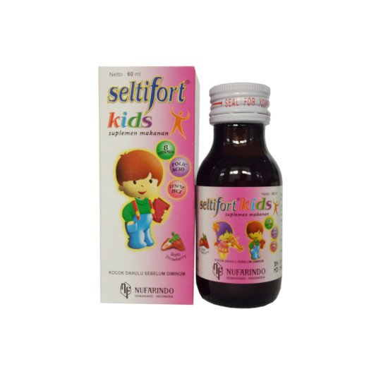 SELTIFORT KIDS SUSPENSI STRAWBERRY 60 ML