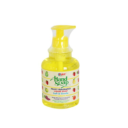 YURI HAND SOAP LEMON PUMP 410 ML