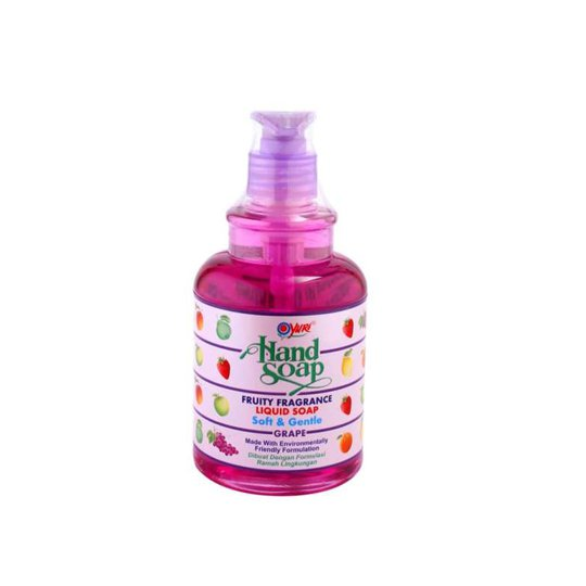 YURI HAND SOAP GRAPE PUMP 410 ML