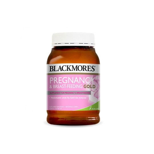 BLACKMORES PREGNANCY & BREAST FEEDING GOLD 180 KAPSUL