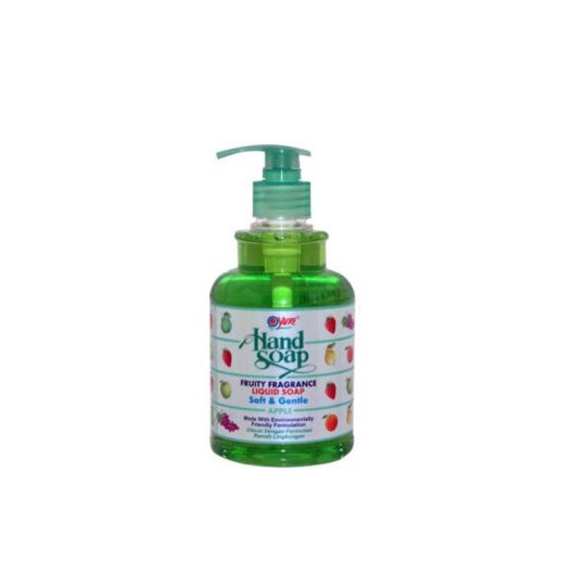 YURI HAND SOAP APPLE PUMP 410 ML