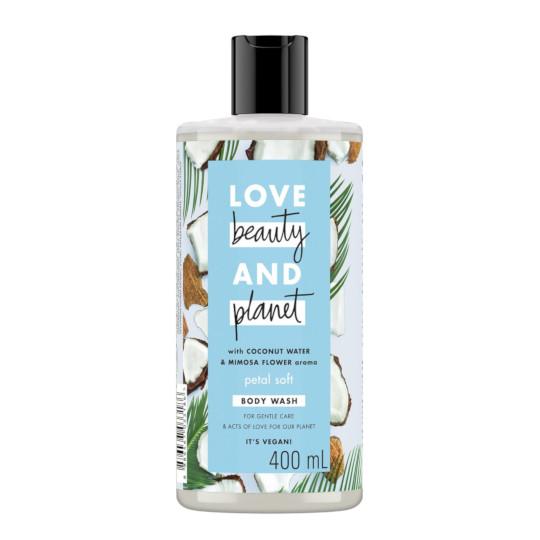 LOVE BEAUTY PLANET PETAL BODY WASH 400 ML
