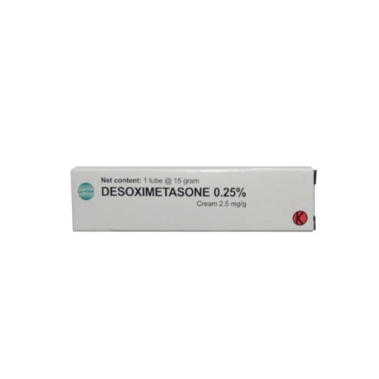 DESOXIMETASONE 0,25 % CREAM 15 GR