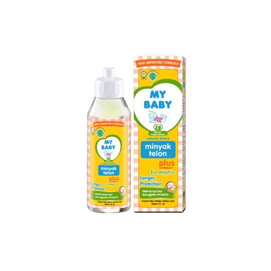 My Baby Minyak Telon Plus Long Protection 90 ml