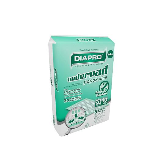 Diapro Underpad Xl 10 Pieces
