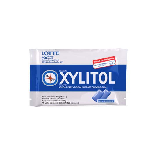 XYLITOL SF FRESH MINT 12 G 15 SACHET