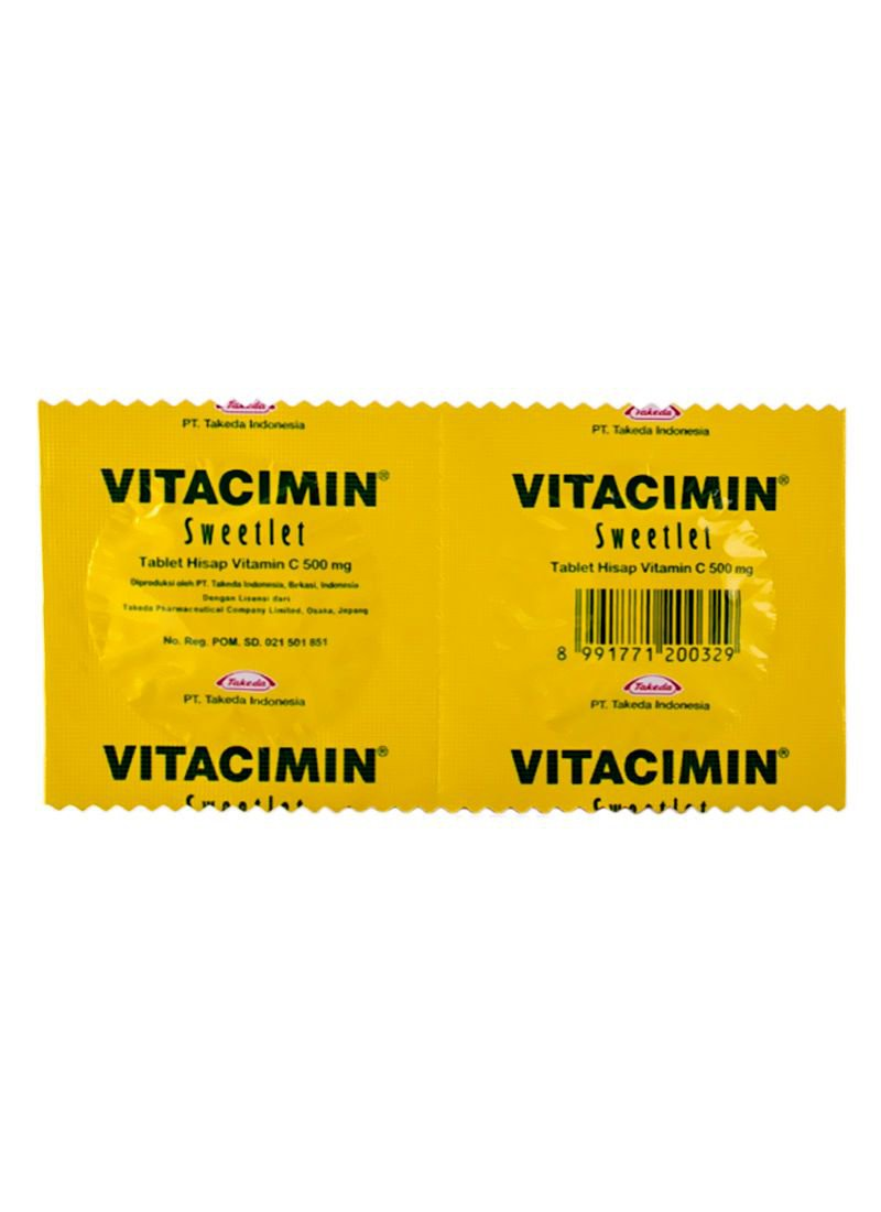 VITACIMIN 500 MG 2 TABLET