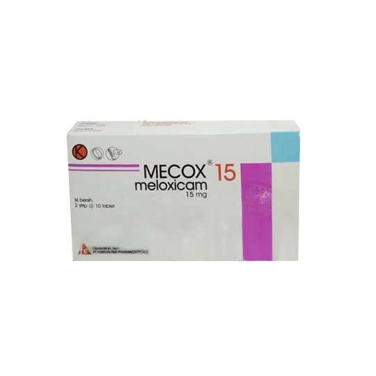 MECOX 15 MG 10 TABLET