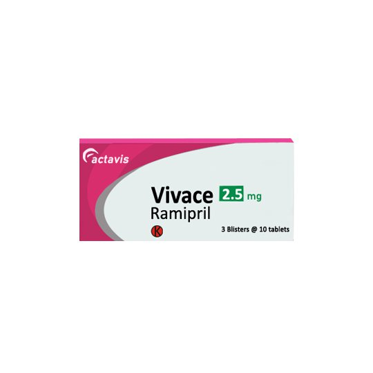VIVACE 2.5 MG 10 TABLET