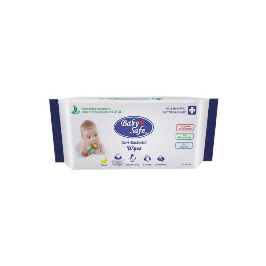 Baby Safe Antibacterial Wipes 50 Lembar
