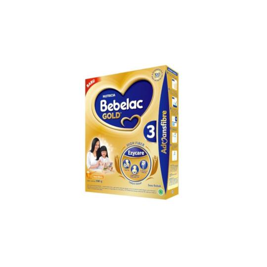 Bebelac Gold 3 Madu Susu Bubuk Tinggi Serat 700 g