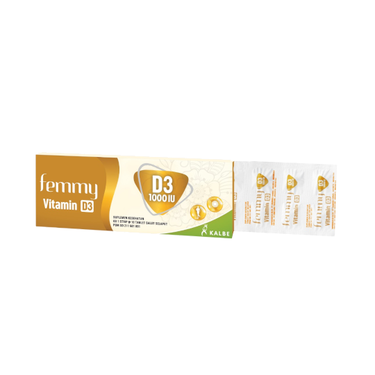 Femmy Vitamin D3 1000 IU 10 Tablet