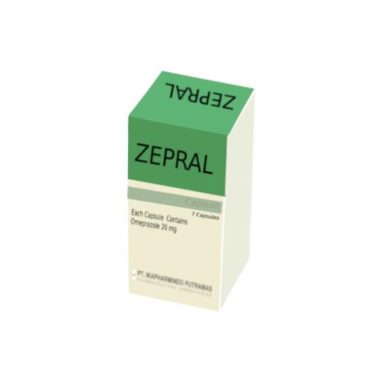 ZEPRAL 20 MG 7 KAPSUL