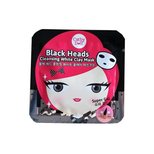 CATHY DOLL BLACK HEAD CLEANSING WHITE CLAY MASK 25 G