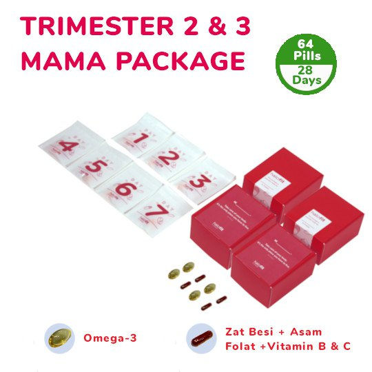 TRIMESTER 2 & 3 MAMA PACKAGE (28-DAYS)