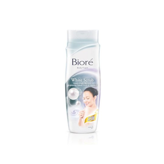 BIORE BODY FOAM WHITE SCRUB 220 ML