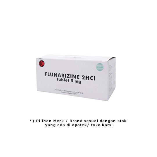 FLUNARIZINE 5 MG 10 TABLET