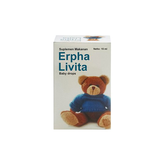 ERPHA LIVITA DROPS 15 ML