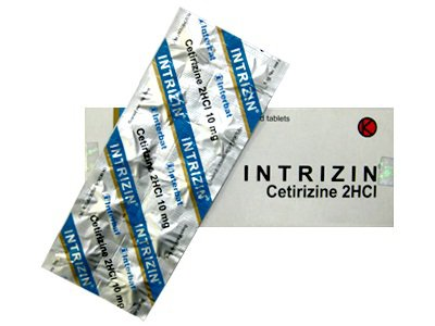 INTRIZIN 10 MG 10 TABLET