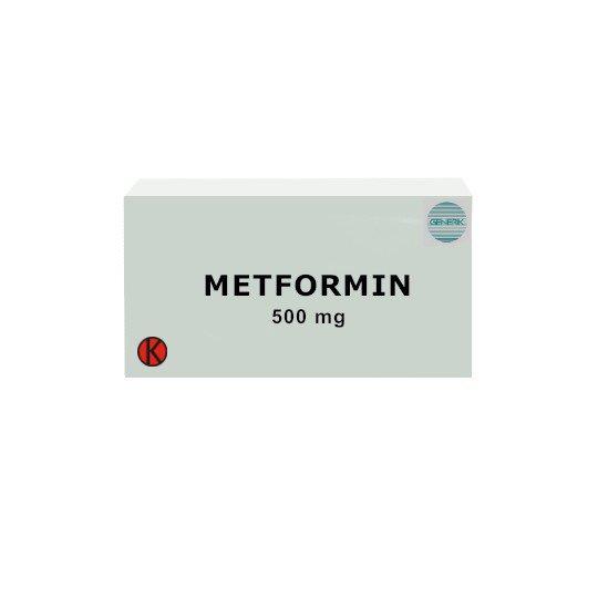 METFORMIN 500 MG 30 TABLET - OBAT RUTIN