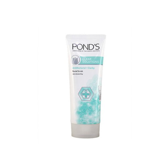 POND'S CLEAR SOLUTION ANTI BACTERIAL FACIAL SCRUB 50 G