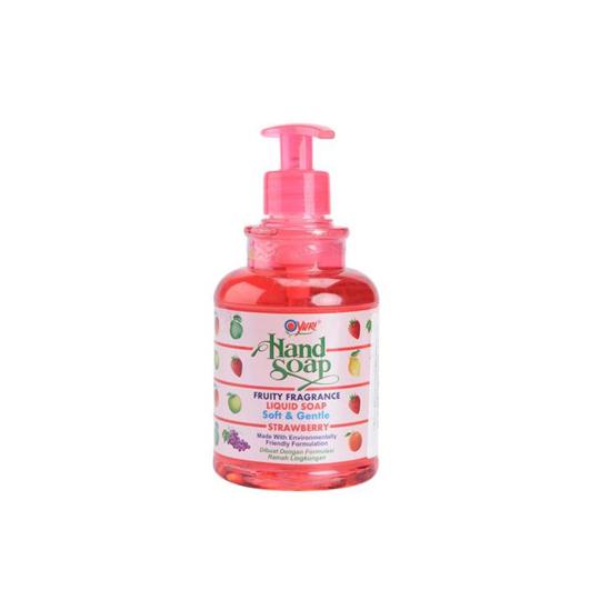 YURI HAND SOAP PUMP STRAWBERRY 410 ML