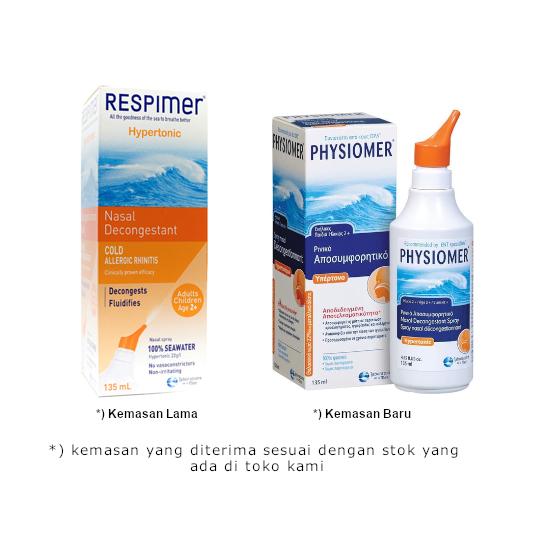 Physiomer Hypertonic Decongestant Adult 135 ml