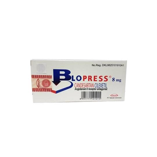 BLOPRESS 8 MG 28 TABLET - OBAT RUTIN