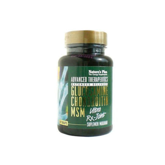 NATURE'S PLUS ULTRA RX JOINT GLUCOSAMINE CHONDROITIN MSM 45 TABLET