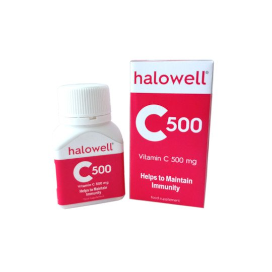 HALOWELL C 500 MG 30 TABLET