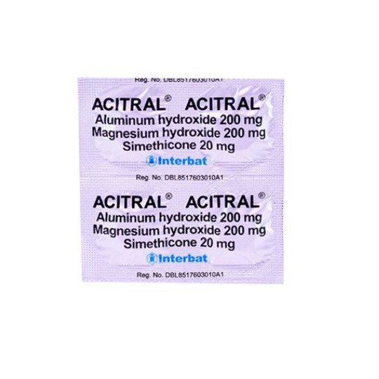 ACITRAL 4 TABLET