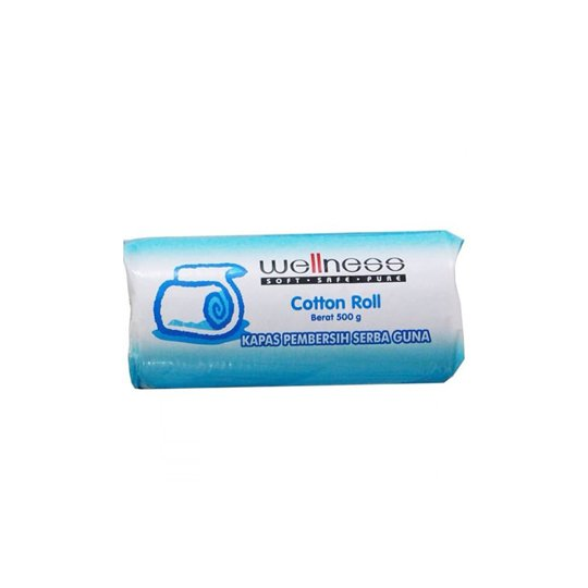 WELLNESS COTTON ROLL 500 G
