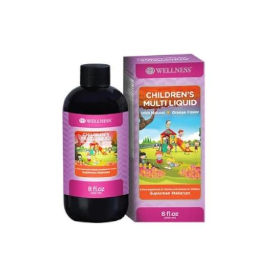Wellness Children's Multi Liquid 8 Oz
